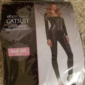 Liquid cat suit